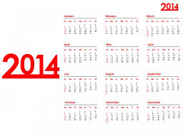 2014 year calendar ppt backgrounds christmas powerpoint