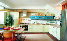 amazing modular kitchen design idea with white kitchen cabinet and
