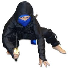Ninja Halloween Costume Kids Black Ice Ninja Costume Kids Ninja Uniform Black Blue