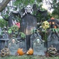 Crafty Outdoor Halloween Decorations by Large Outdoor Halloween Decorations Templates