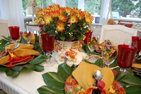 Fall Table Settings by Table Decorations For A Fall Party 5 Ideas For Wedding