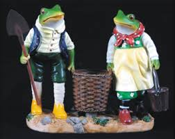 frog home garden ornaments