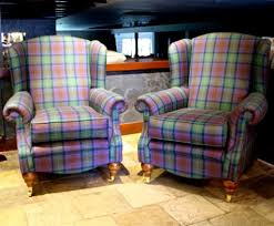 Tartan Armchairs Dames Queens And Elaborate Props All Part Of The Theatre At