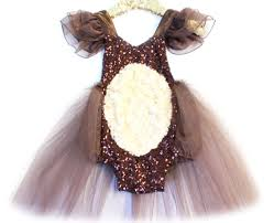 Brown Bear Halloween Costume Brown Bear Tutu Sparkle Romper Tutu Halloween Ideas
