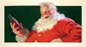 did coca cola invent the modern image of santa claus