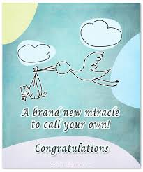 congrats on new card newborn baby congratulation messages with adorable images
