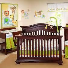 Nojo Crib Bedding Set Congo Bongo Luxury Applique 4 Baby Crib Bedding Set By Nojo