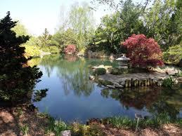 ginter botanical garden lakeside virginia serene