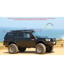 2004 Tacoma Roof Rack by Toyota 4runner 3rd Gen Stealth Rack 30