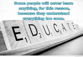 essence of education quote