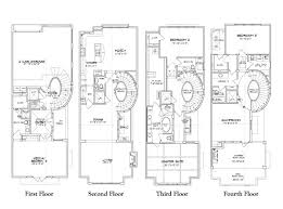 luxury floor plans pictures luxury townhome floor plans the architectural