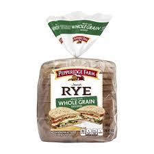 pepperidge farm light bread whole grain rye bread pepperidge farm