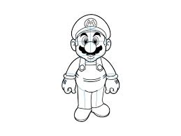 super mario drawings draw mario super mario brothers