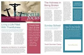 Free Church Newsletter Template the power of a printable newsletter template newsletter templates