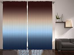 amazon com ombre curtains decor by ambesonne 108 x 84 inches