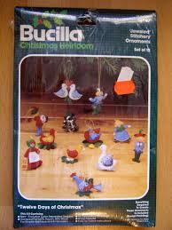 nip bucilla 12 days of felt ornament kit 48997 24 00