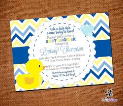 Rubber Ducky Baby Shower Centerpieces by Rubber Duck Boy Printable Baby Shower Invitation Ducky Duckie
