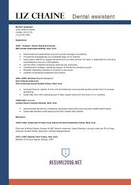 dental assistant resume templates dental assistant resume template 2016 get the