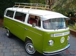 van volkswagen vintage vw kombi microbus deluxe restored van vintage retro surf bus