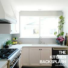 Kitchen Tile Backsplash Installation Cad Interiors Affordable Stylish Interiors