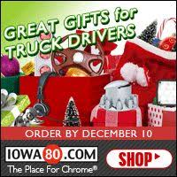 here are some great gift ideas for your favorite truck driver