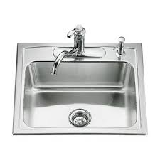 Top Mounted Kitchen Sinks by Kohler Toccata 25