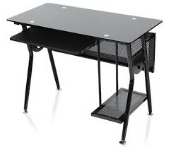 Glass Desk Office Furniture Furniture Endearing Home Office Decoration Design With Ikea Glass