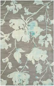 flower area rugs dip dye rugs blue tie dye flower area rug safavieh