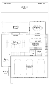 Beach House Floor Plan by 141 Best Floor Plans Images On Pinterest Floor Plans Car Garage