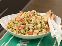creamy pasta salad recipe creamy shrimp pasta salad recipe giada de laurentiis food network