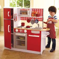Kidkraft Kitchen Red - super chef play kitchen is the kitchen of dreams for budding