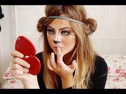 bambi deer makeup tutorial milkteef youtube