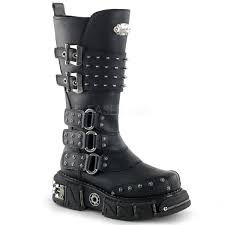 knee high motorcycle boots dma 3004 combat boot