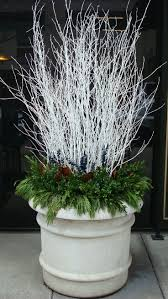 Best Outdoor Christmas Decorations by Best 25 White Branches Ideas Only On Pinterest Contemporary