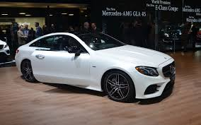 nissan coupe 2017 2018 mercedes benz e class coupe revealed the car guide