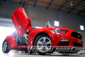butterfly doors ford mustang 2015 2016 vertical lambo doors bolton conversion kit