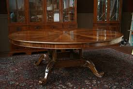 expandable round dining table large double pedestal round expandable dining table round dining