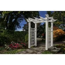 resin arbors u0026 trellises garden center the home depot