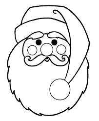 coloring pages to print of santa free printable santa claus coloring pages for kids