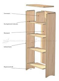 woodworking plans rotating bookshelf with creative example in