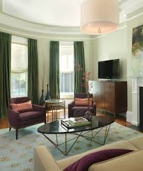 pleasing olive curtains living room contemporary with crown