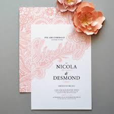 blush lace wedding invitation suite by may contain glitter
