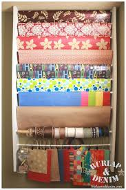 christmas wrap storage best 25 organizing gift bags ideas on gift wrap
