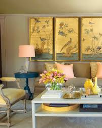 Yellow Living Room Ideas by Paint Palettes We Love Martha Stewart