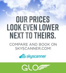 glo glo is now on skyscanner com letting you see our facebook