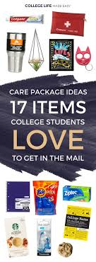 college student care package care package ideas 17 items college students to get