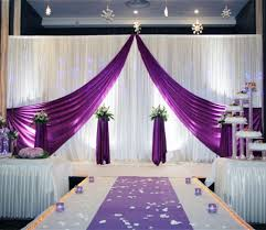 wedding backdrop drapes 10ftx20ft white purple wedding backdrop curtain t stage backdrop
