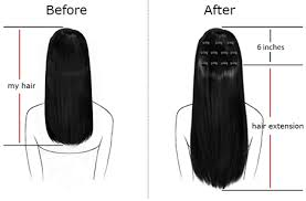 18 inch hair extensions before and after hair length and weight guidance