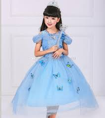 Ball Gown Halloween Costume Limited Edition Ice Queen Ball Gown Butterfly Princess