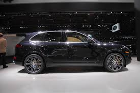 porsche suv 2015 black 2016 cayenne turbo s 2015 detroit auto show youtube